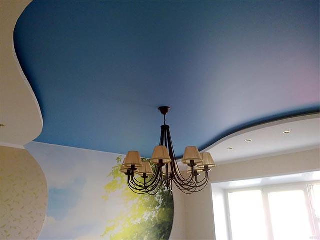 Матовый потолок в Гомеле