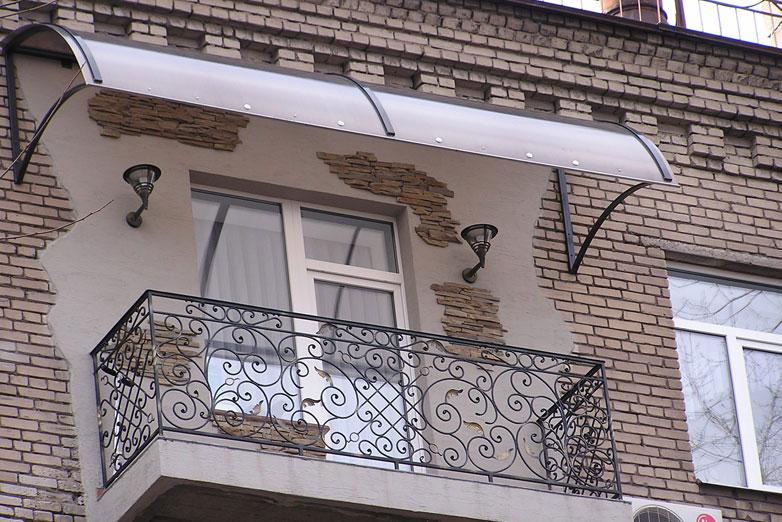 Навес на балкон в Гомеле