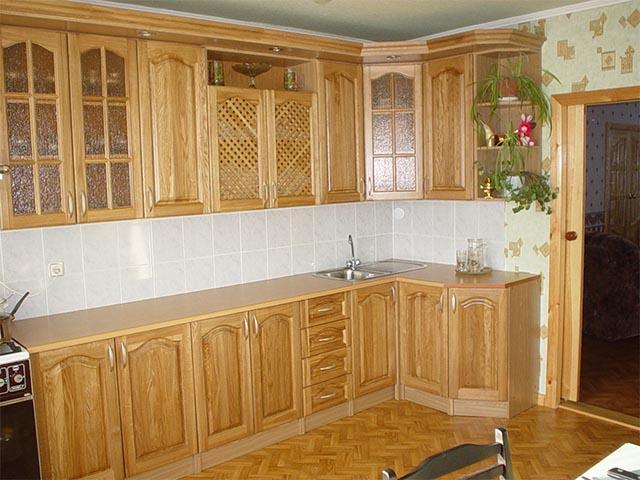 Кухни массив светлые в Гомеле